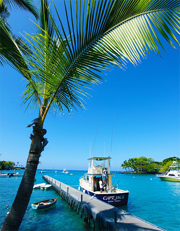Keauhou Harbor, Kona District, Hawaii