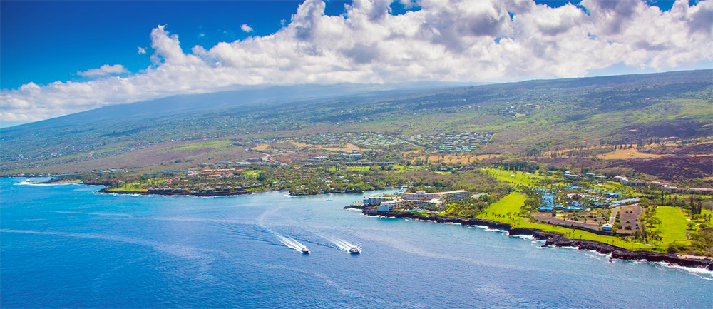 Keauhou Harbor by Fair Wind